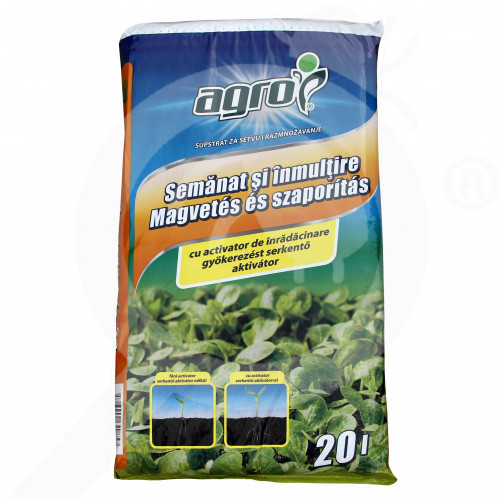 hu agro cs substrate sowing multiplication substrate 20 l - 0, small