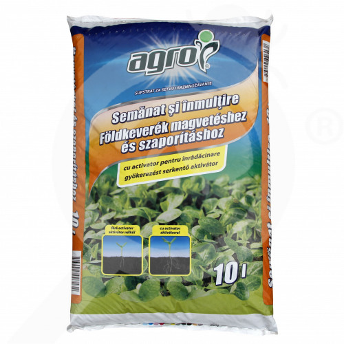 hu agro cs substrate sowing multiplication substrate 10 l - 0, small
