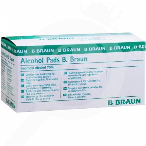 hu b braun disinfectant alcohol pad 100 p - 1, small