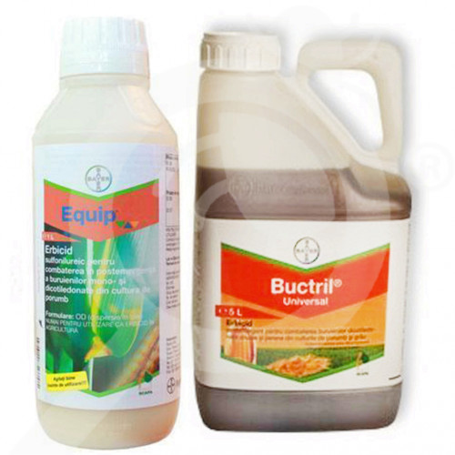 hu bayer herbicide equip 25 l buctril universal 10 l - 1, small