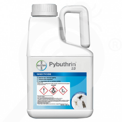 hu bayer insecticide pybuthrine 33 - 0, small
