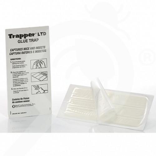 hu bell laboratories adhesive plate trapper mc glue trap 2 p - 0, small