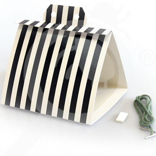 hu agrisense adhesive trap tm black stripe delta kit - 1, small