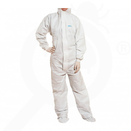 hu deltaplus safety equipment protective coverall dt117 xl - 1, small