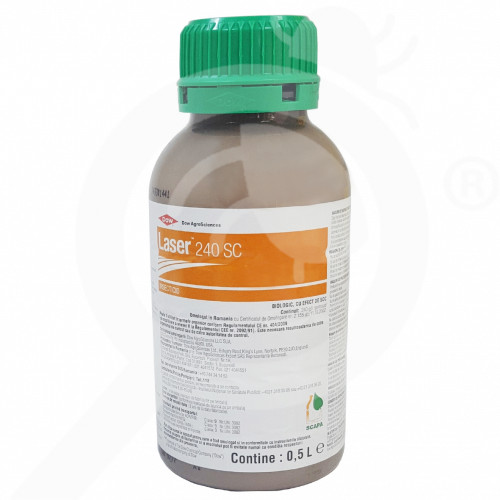 hu dow agro sciences insecticide crops laser 240 sc 500 ml - 1, small