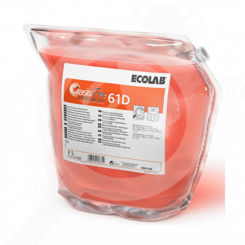 hu ecolab detergent oasis pro 61d premium 2 l - 1, small