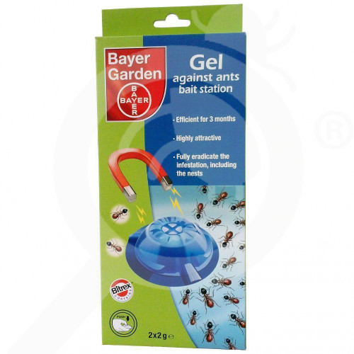 hu bayer insecticide fourmis ant 2x2 g - 0, small