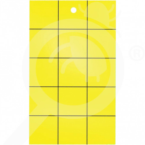 hu catchmaster adhesive trap yellow sticky cards set of 72 - 2, small