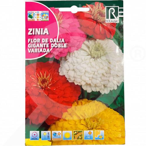 hu rocalba seed flor de dalia gigante doble variada 6 g - 0, small