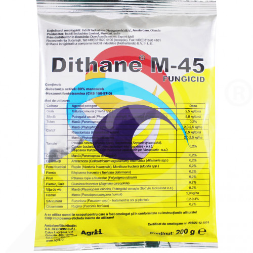 hu dow agro fungicide dithane m 45 200 g - 1, small