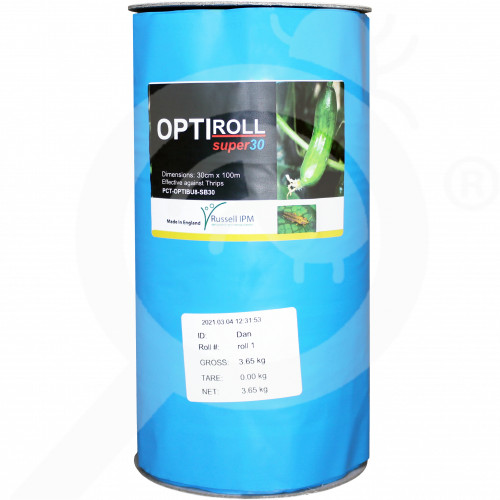 hu russell ipm adhesive trap optiroll blue - 1, small