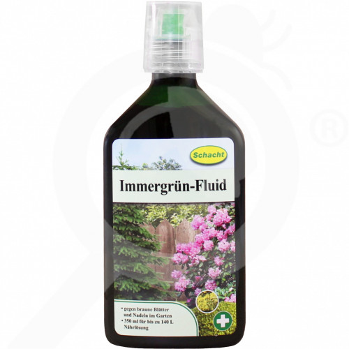 hu schacht fertilizer evergreen fluid 350 ml - 1, small