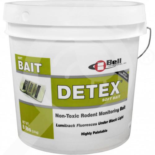 hu bell labs trap detex soft bait 3 6 kg - 0, small
