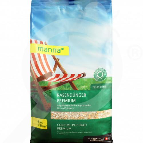 hu hauert fertilizer manna lawn fertilizer premium 2 kg - 1, small