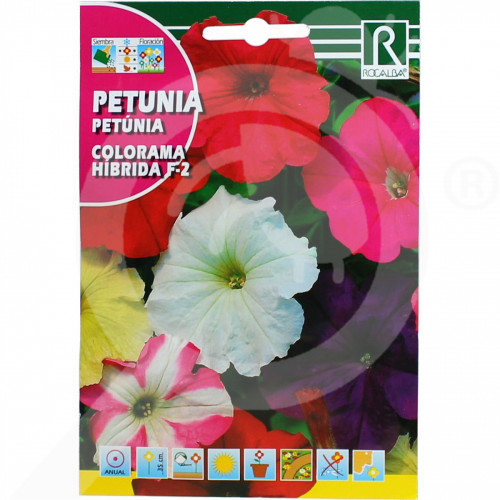 hu rocalba seed petunia colorama hibrida f2 0 5 g - 0, small