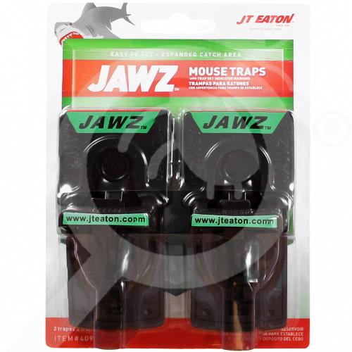 hu jt eaton trap jawz plastic mouse traps set of 2 - 0, small