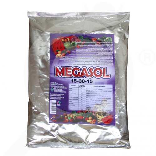 hu rosier fertilizer megasol 15 30 15 1 kg - 0, small