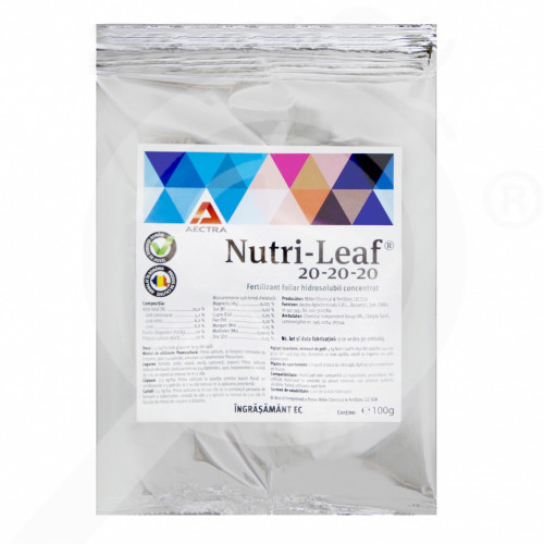 hu miller fertilizer nutri leaf 20 20 20 100 g - 0, small