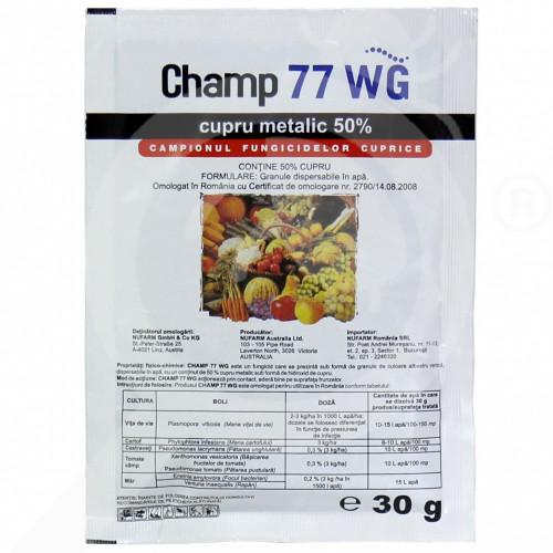 hu nufarm fungicide champ 77 wg 30 g - 1
