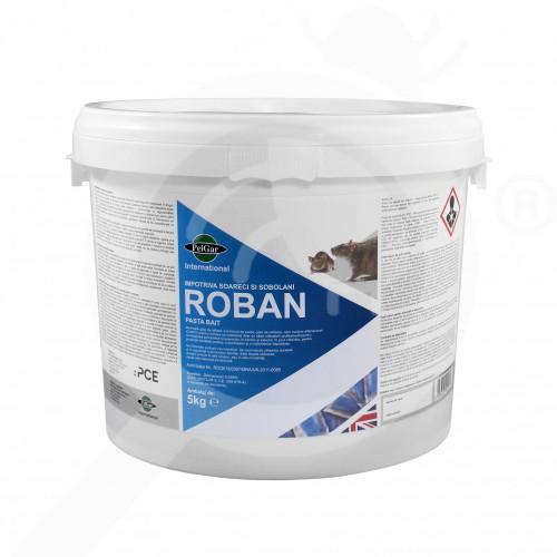 hu pelgar rodenticide roban pasta bait 5 kg - 1, small