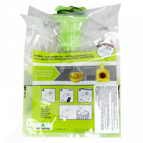 hu agrisense trap fly bag - 0
