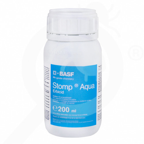 hu basf herbicide stomp aqua 200 ml - 1