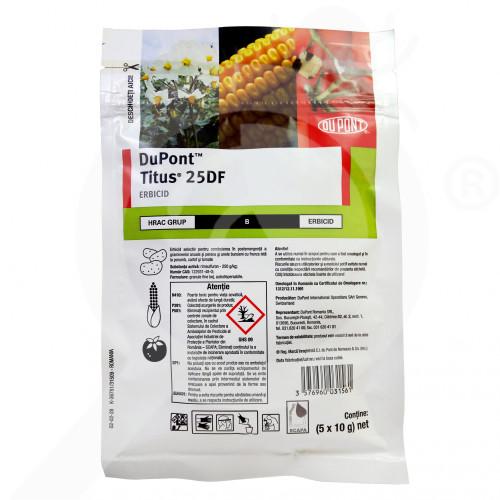 hu dupont herbicide titus 25 df 100 g - 1