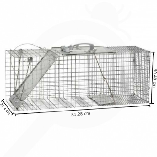 hu woodstream trap havahart 1085 one entry animal trap - 1
