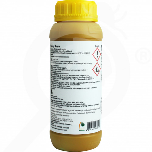 hu basf herbicide stomp aqua 1 l - 1