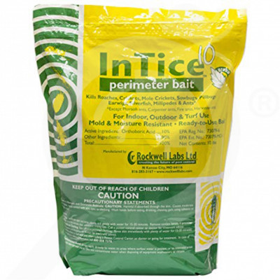 us rockwell labs insecticide intice 10 perimeter bait 40 lb - 1