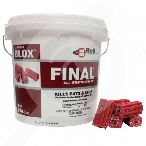 us bell labs rodenticide final blox 18 lb - 1, small