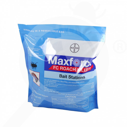 us bayer insecticide maxforce fc small roach stations 1 5 g - 0, small