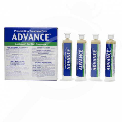 us basf insecticide advance cockroach gel 120 g - 2, small