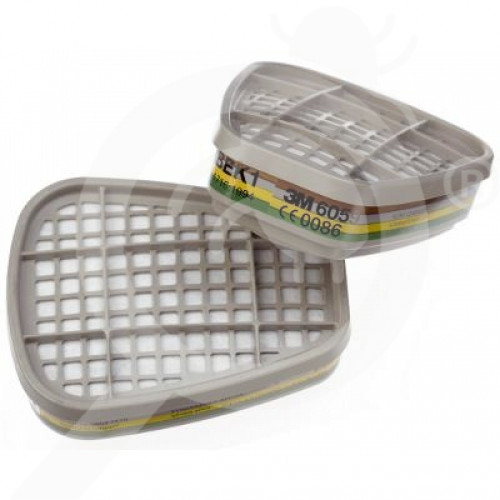 us 3m safety equipment gas mask filters set of 2 pieces - 1, small