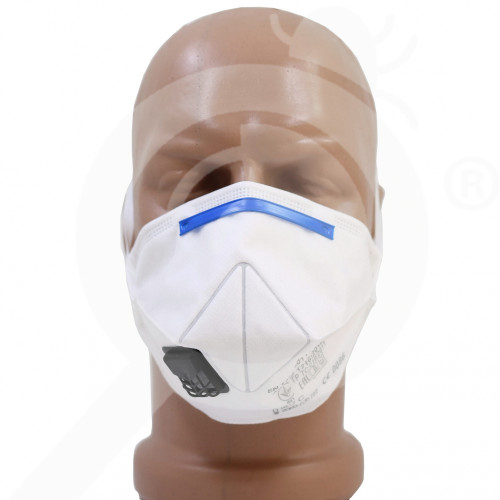 us 3m safety equipment semi foldable mask - 1, small