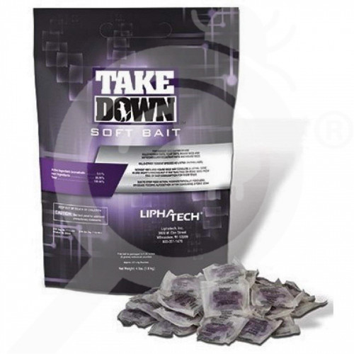 us lipa tech rodenticide takedown soft bait 4 lbs - 1, small