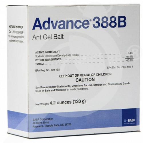 us basf insecticide advance 388b ant gel bait 30 g - 1, small