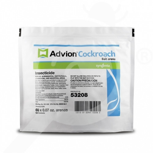 us syngenta insecticide advion roach stations 4 2 oz - 1, small
