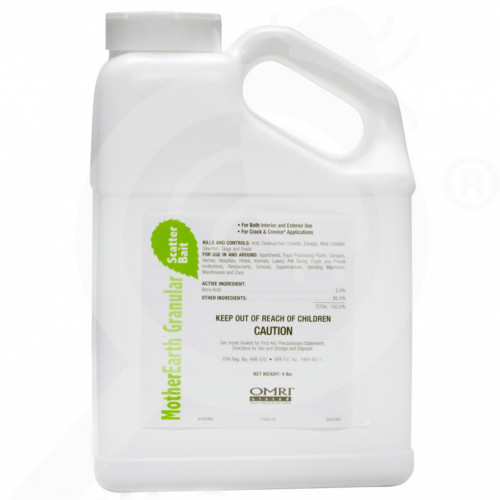 us basf insecticide motherearth granular scatter bait 4 lb - 1, small