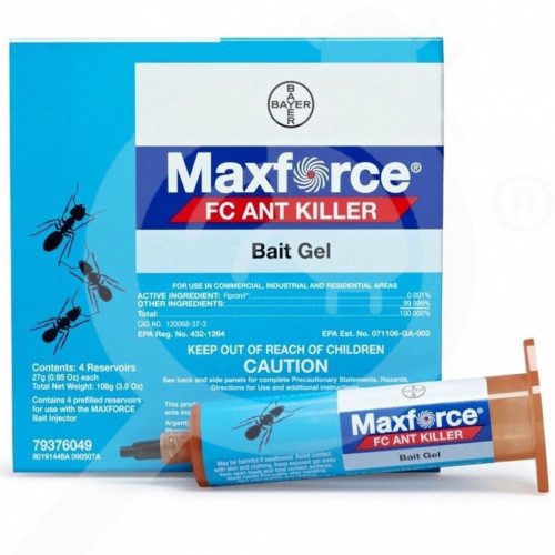 us bayer insecticide maxforce ant gel 27 g - 1