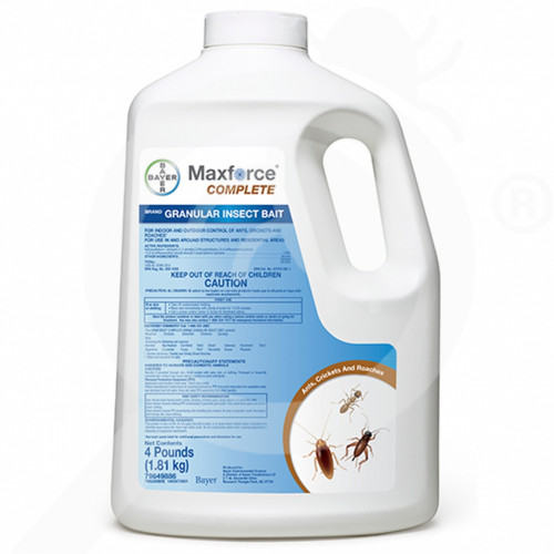 us bayer insecticide maxforce complete granular bait 4 lb - 1, small