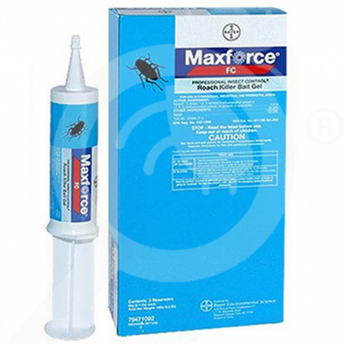 us bayer insecticide maxforce fc roach gel 60 g - 1, small