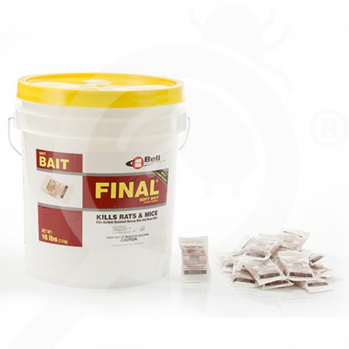 us bell labs rodenticide final soft bait 16 lb - 1, small