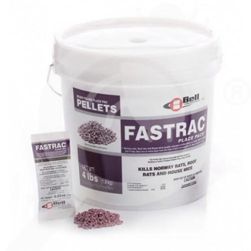 us bell labs rodenticide fastrac pellets place packs 7275 g - 1, small