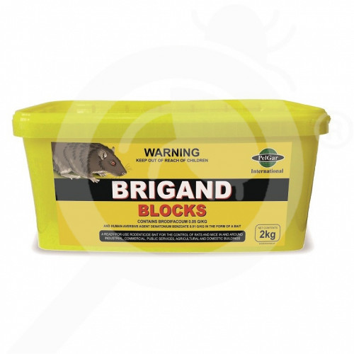 us pelgar rodenticide brigand rodenticide blocks 2 kg - 1, small