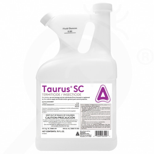 us control solutions insecticide taurus sc termiticide 78 oz - 1, small