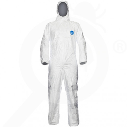 us dupont safety equipment tyvek chf5 protective coverall l - 6, small