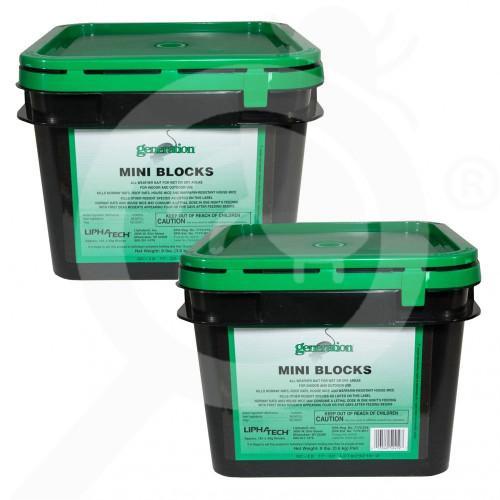 us basf rodenticide generation block case 8 lb - 1, small