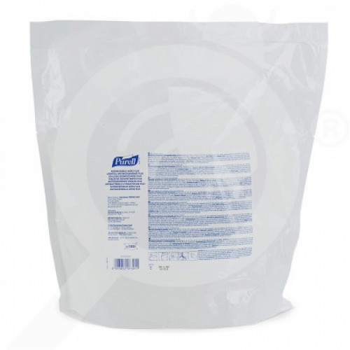 us gojo disinfectant purell plus 1200 per bag - 1, small
