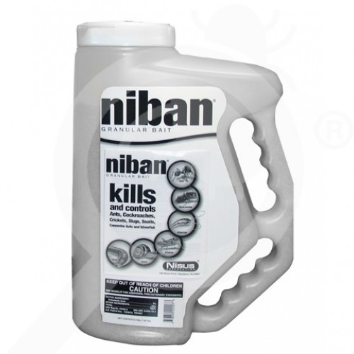 us nisus insecticide niban granular bait comfort grip 4 lbs - 1, small